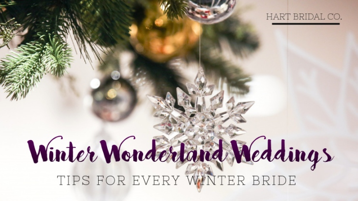 winter wonderland brides